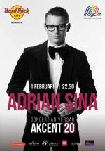Concert Adrian Sîna – AKCENT 20, la Hard Rock Cafe din Bucureşti