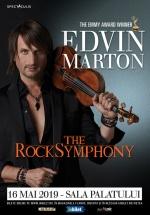 Concert Edvin Marton: The RockSymphony la Sala Palatului din București