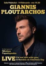 Concert Giannis Ploutarchos la Sala Palatului din Bucureşti