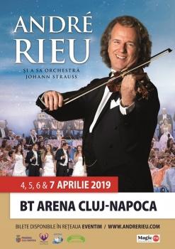 Concert André Rieu la BT Arena din Cluj-Napoca