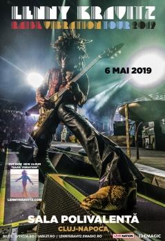 Concert Lenny Kravitz la BT Arena din Cluj-Napoca