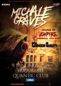 Concert Michale Graves (ex Misfits) în Club Quantic din Bucureşti