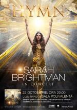 Concert Sarah Brightman la BT Arena din Cluj-Napoca