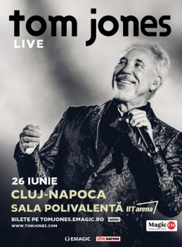 Concert Tom Jones la BT Arena din Cluj-Napoca