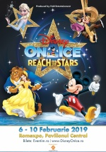 "Disney On Ice – ""Reach For The Stars"" la Romexpo din Bucureşti"