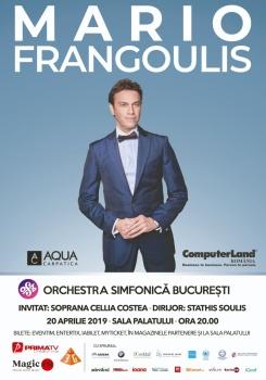 Concert Mario Frangoulis la Sala Palatului din Bucureşti