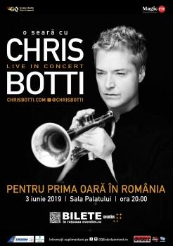 Concert Chris Botti la Sala Palatului din Bucureşti
