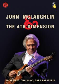 Concert John McLaughlin & The 4th Dimension la Sala Palatului din Bucureşti