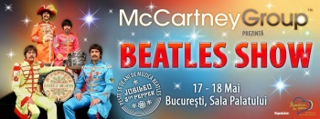 Concert The Backwards – The Beatles Show la Sala Palatului din Bucureşti