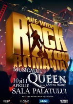 Queen: We Will Rock You la Sala Palatului din Bucureşti