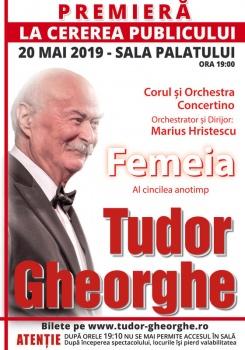 """Concert Tudor Gheorghe – """"Femeia – Al cincilea anotimp"""" la Sala Palatului din Bucureşti"""