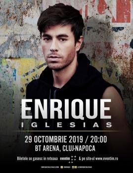 Concert Enrique Iglesias la BT Arena din Cluj-Napoca
