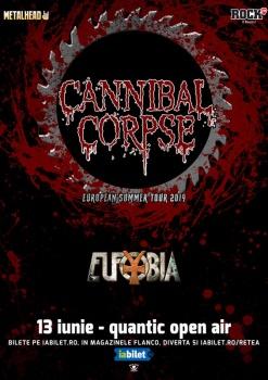 Concert Cannibal Corpse în Club Quantic din Bucureşti