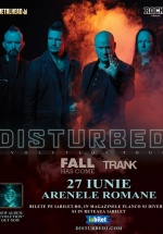Concert Disturbed la Arenele Romane din Bucureşti