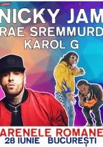 Concerte Nicky Jam, Rae Sremmurd, Khea şi Karol G la Arenele Romane din Bucureşti (CONCURS)