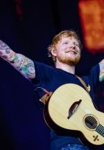 FOTO: Ed Sheeran la Arena Naţională din Bucureşti