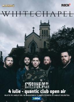 Concert Whitechapel în Club Quantic din Bucureşti
