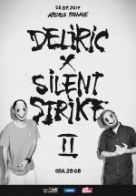 Concert Deliric X Silent Strike II la Arenele Romane din Bucureşti