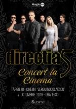 """Concert direcţia 5 la Cinema """"Sergiu Nicolaescu"""" din Târgu Jiu"""