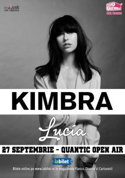 Concert Kimbra în Club Quantic din Bucureşti