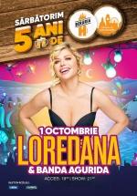 Concert Loredana & Banda Agurida la Berăria H din Bucureşti