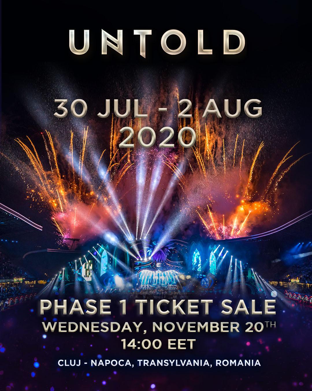 Abonamente UNTOLD 2020