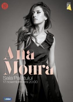 Concert Ana Moura la Sala Palatului din Bucureşti