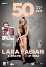 Concert Lara Fabian la Sala Palatului din Bucureşti – ANULAT