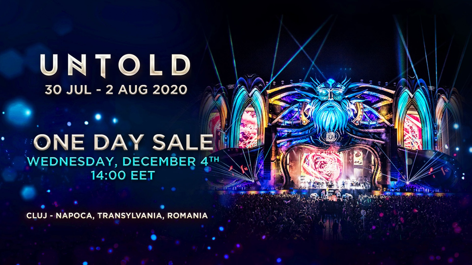 """ONE DAY SALE "" UNTOLD 2020"