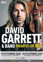 """Concert David Garrett – """"Unlimited Live"""" la BT Arena din Cluj-Napoca"""